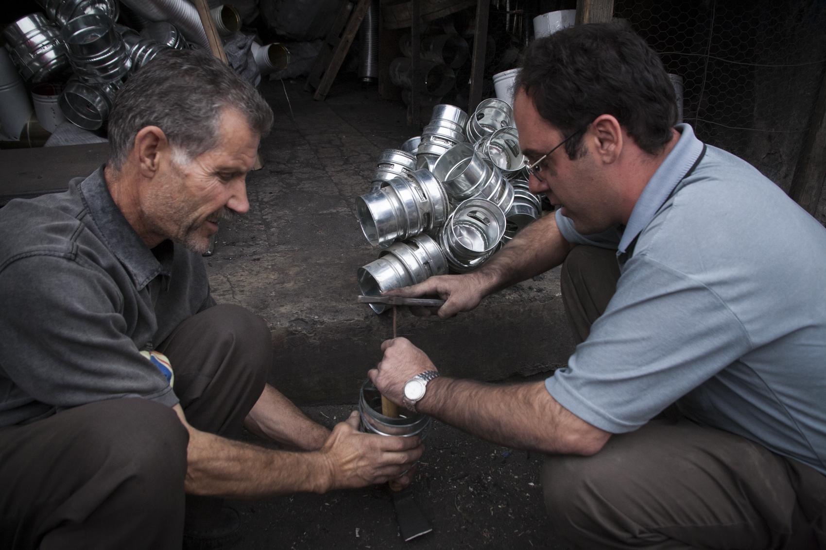 Metal workers, Tabriz
