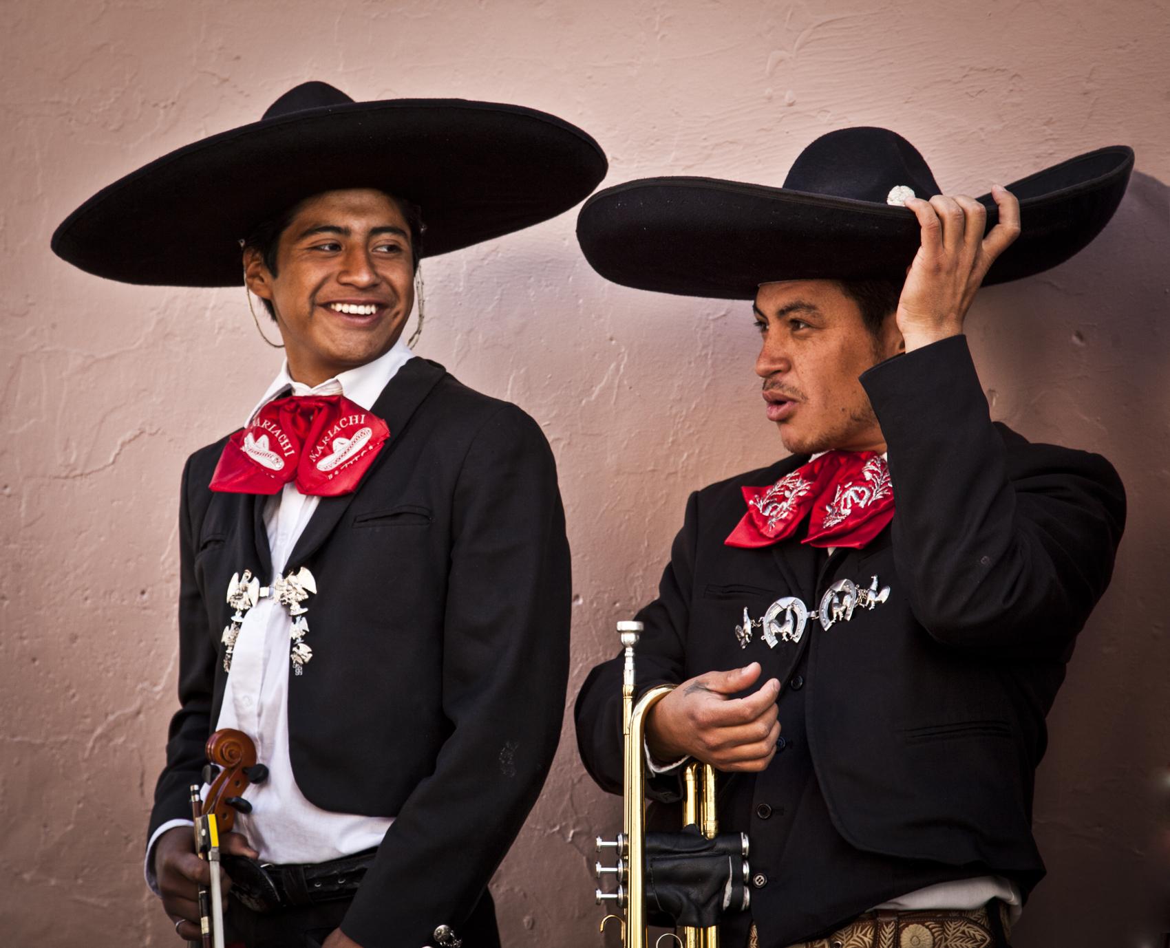 Mariacha singers
