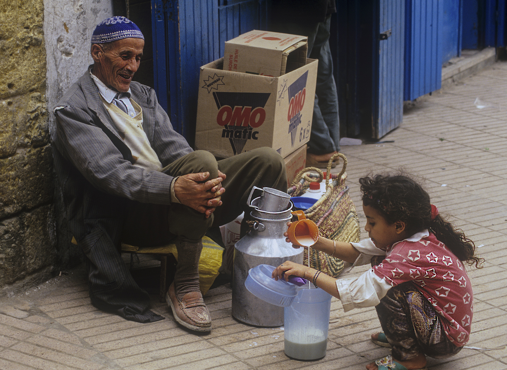 Street vendor, Panjsher Valley