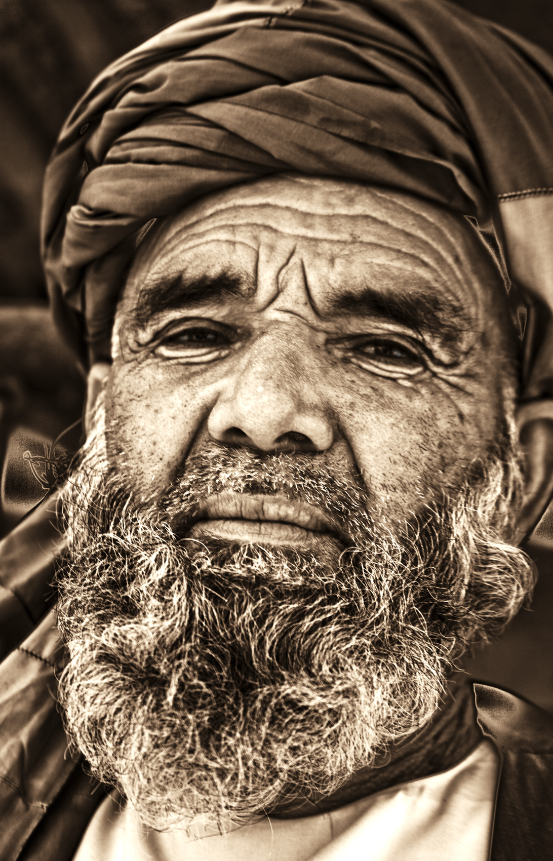 Tribal elder, Afghanistan