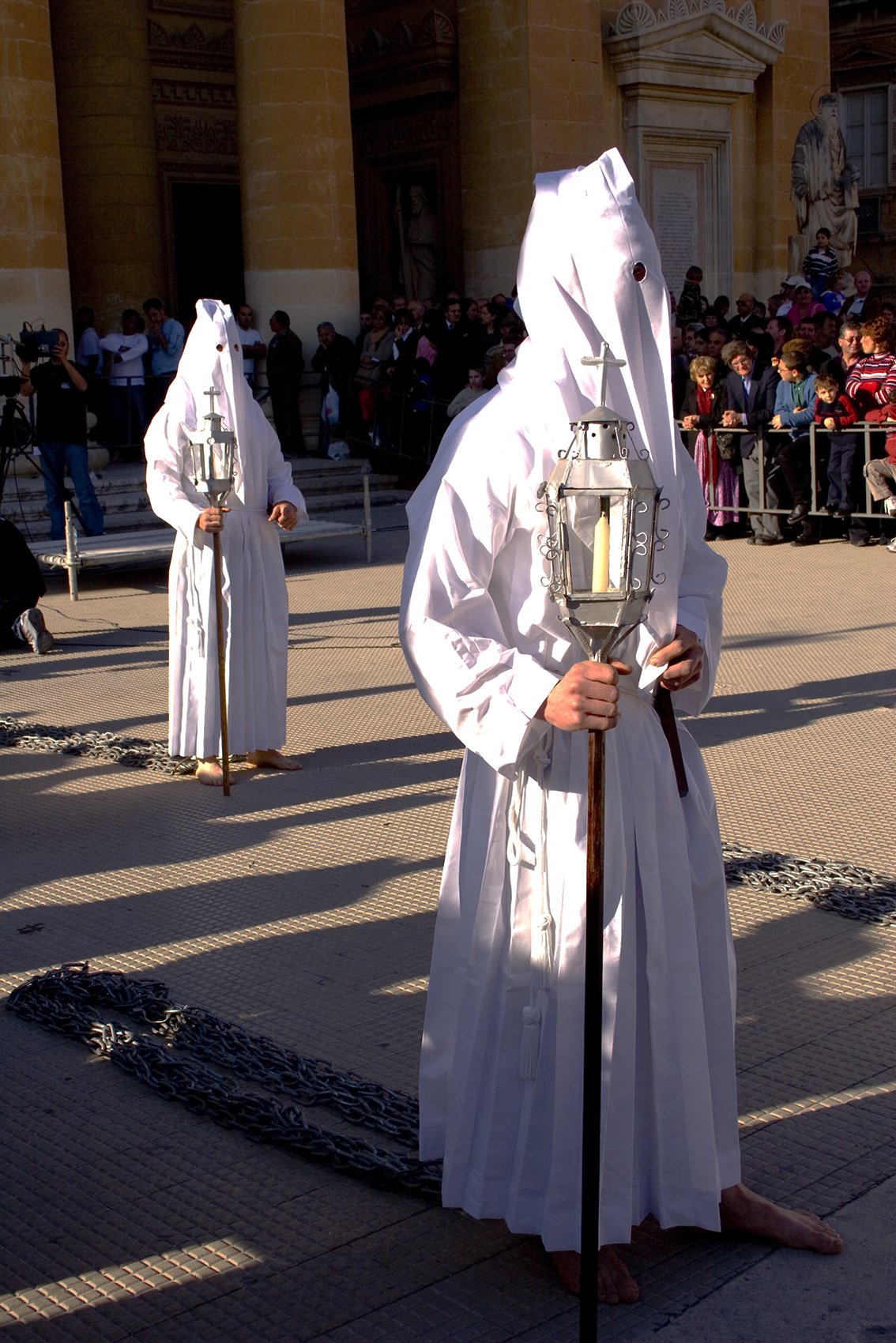 Good Friday penitents, Malta