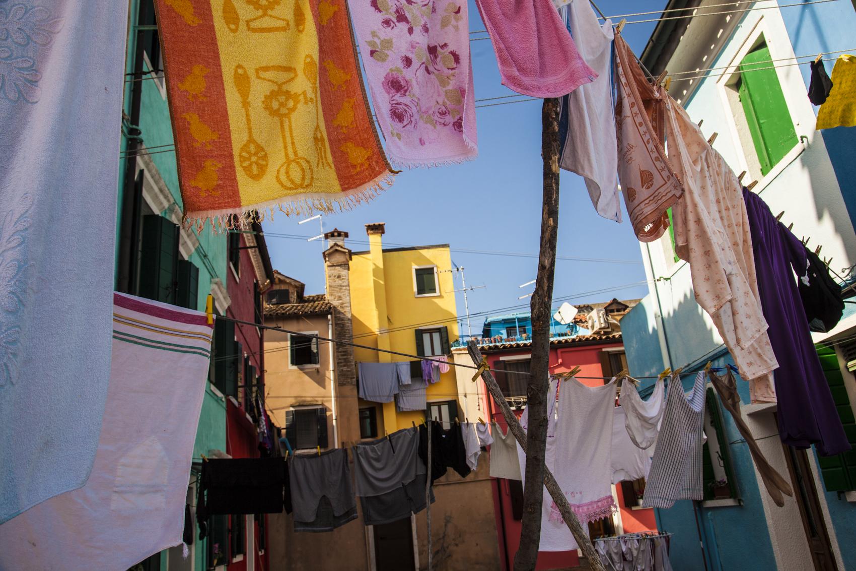 Laundry day, Burano