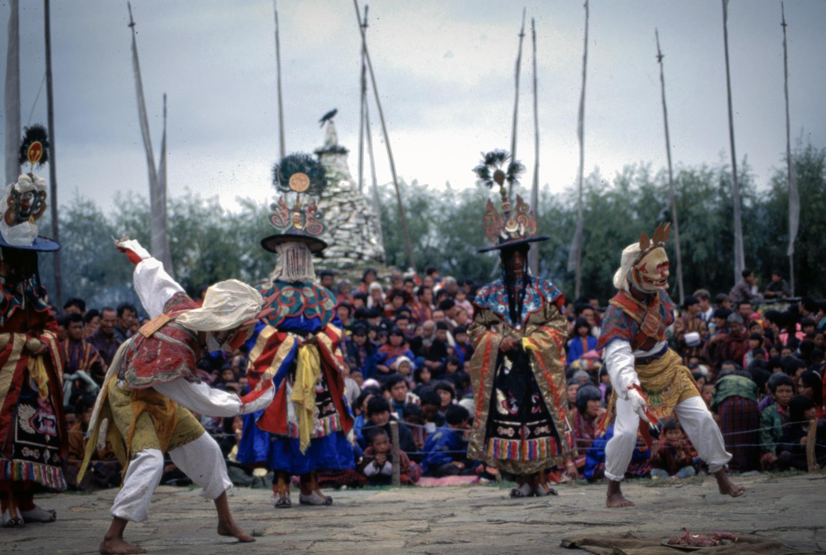 Fertility festival at Trongsa