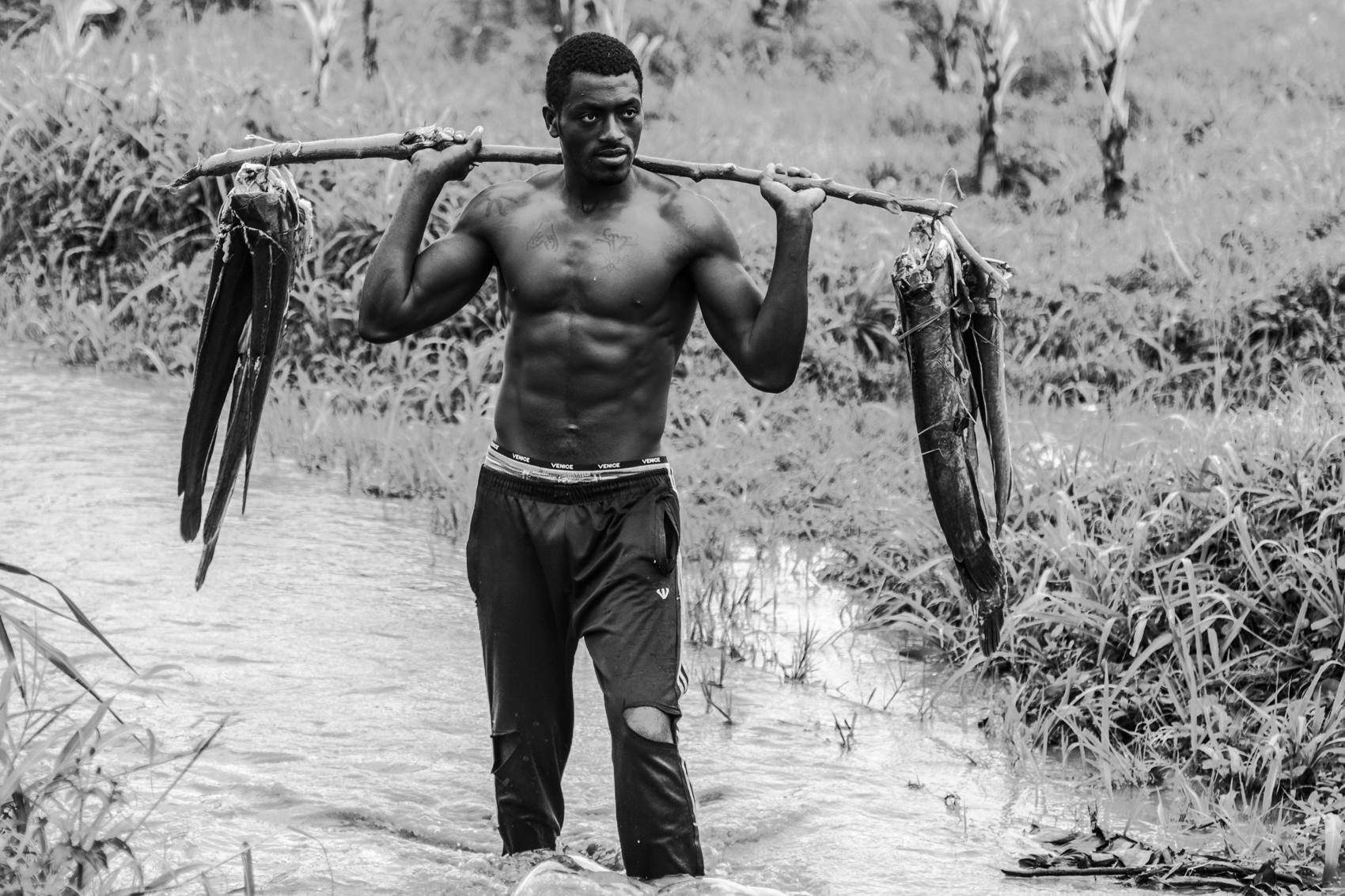 Konso fisherman