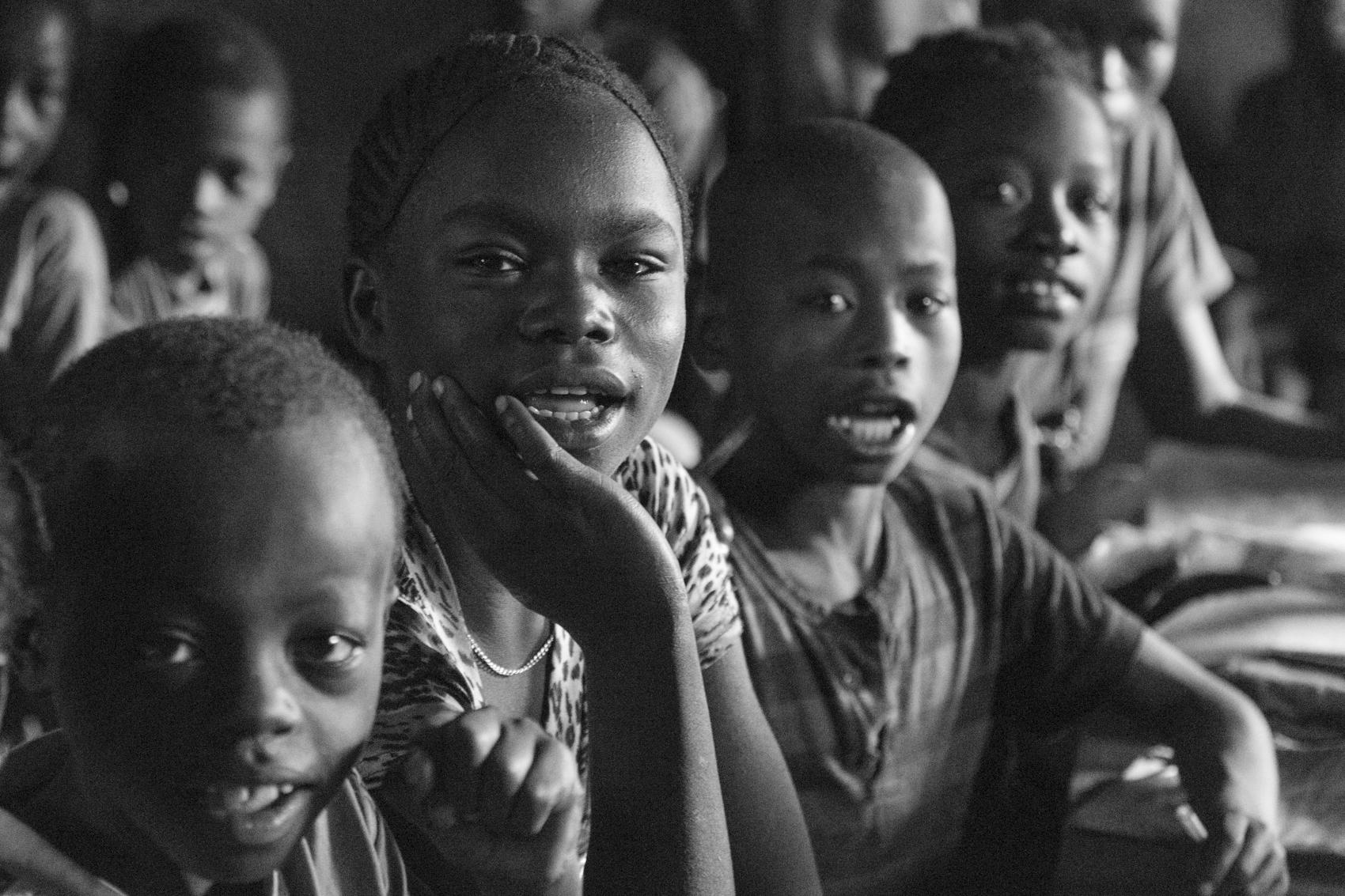 School children in Ari village