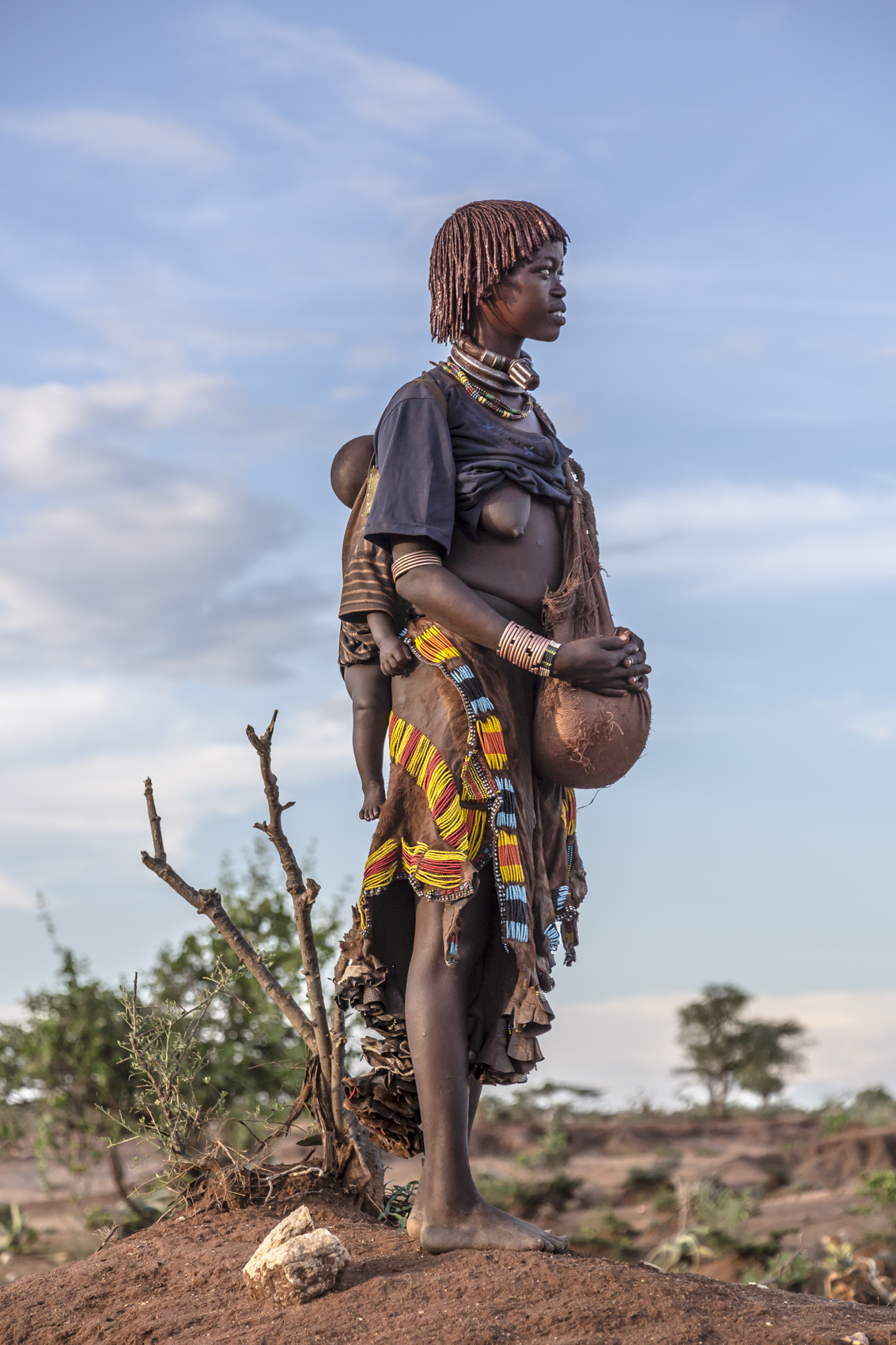 Hamar woman, Omo Valley