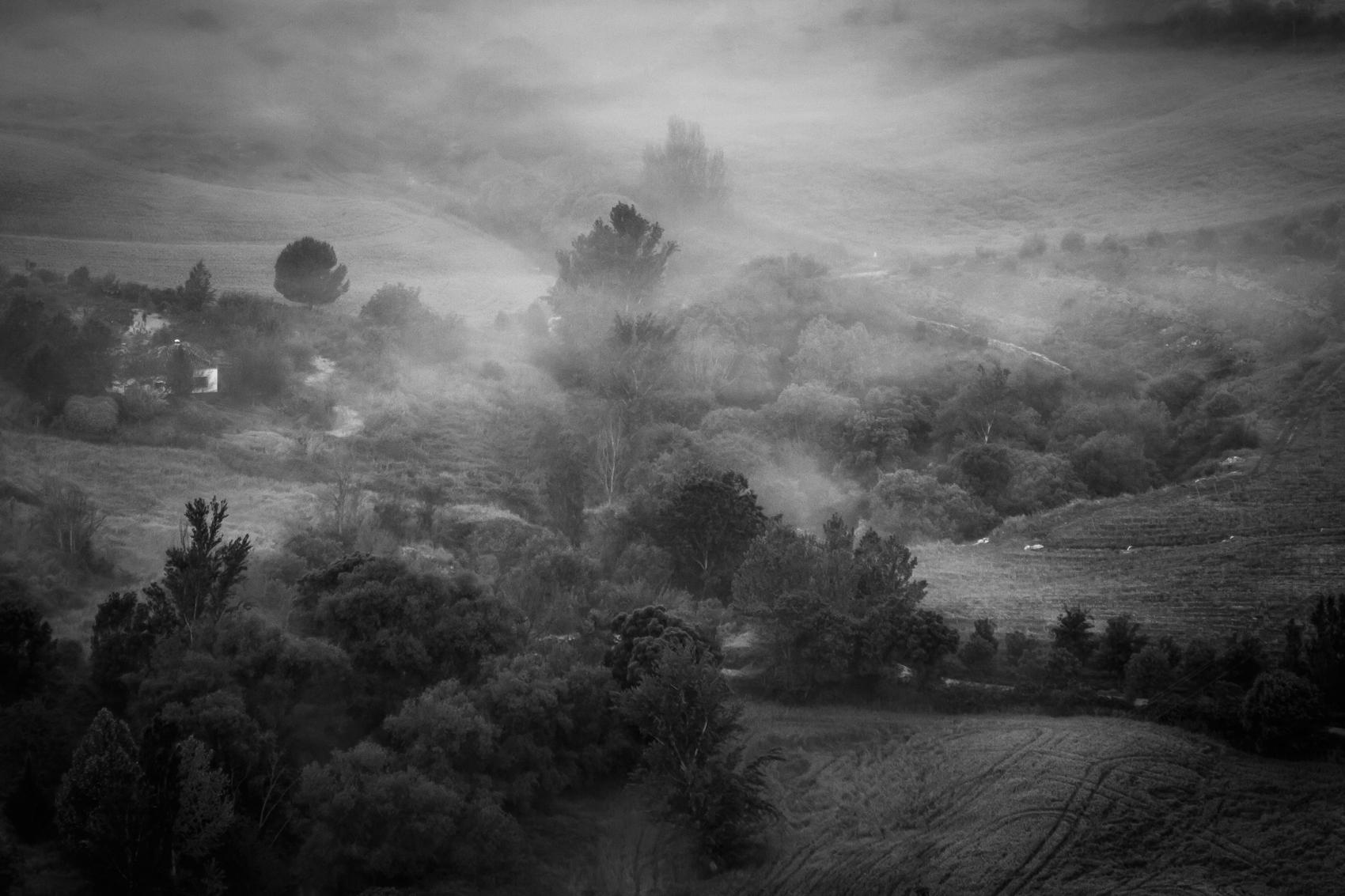 Morning fog, Ronda