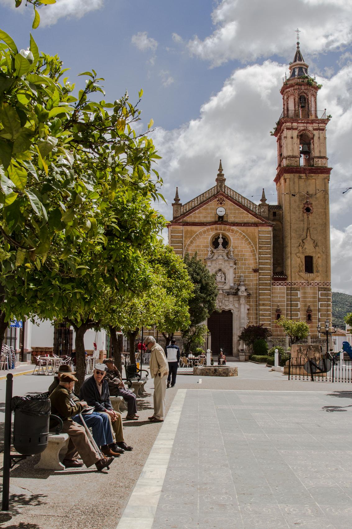 Town square, Grazalema