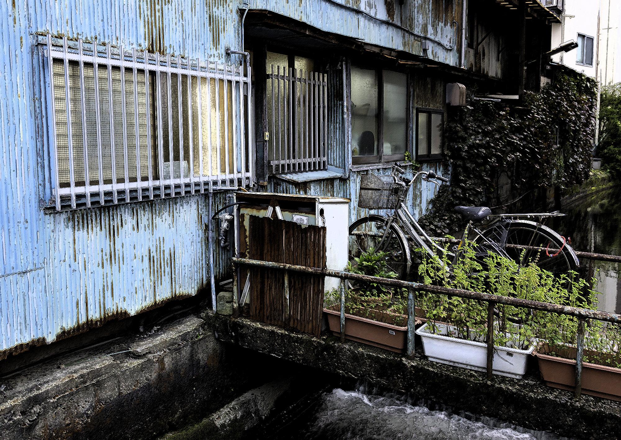 Canal house, Kanazawa