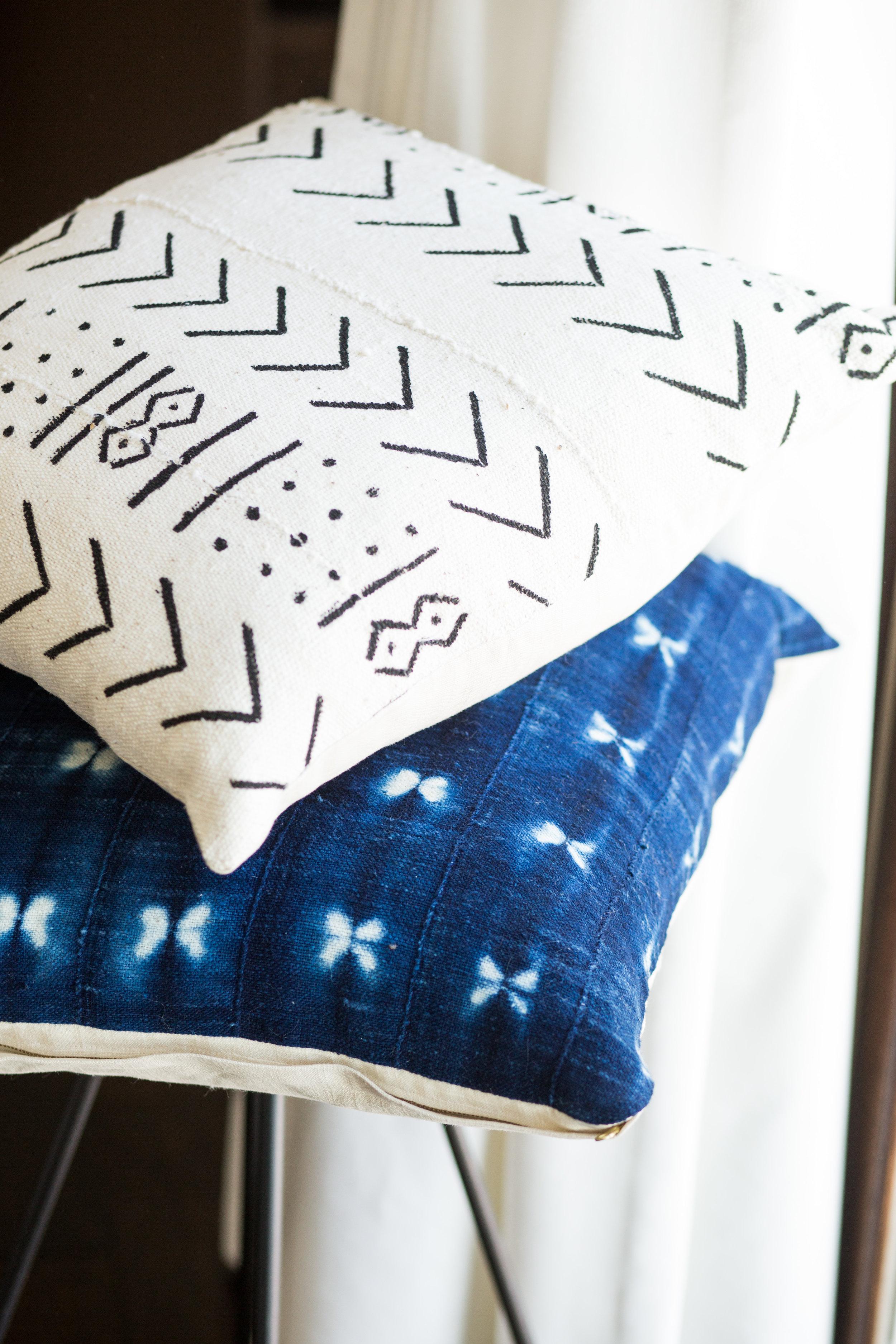 Mudcloth Pillows -
