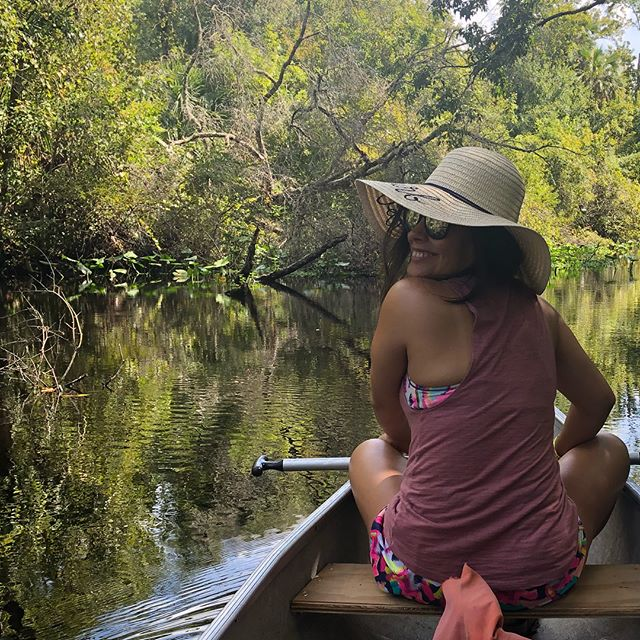 Birthday getaway with my love 🛶 #thisis32 #floridaexcursion #nature