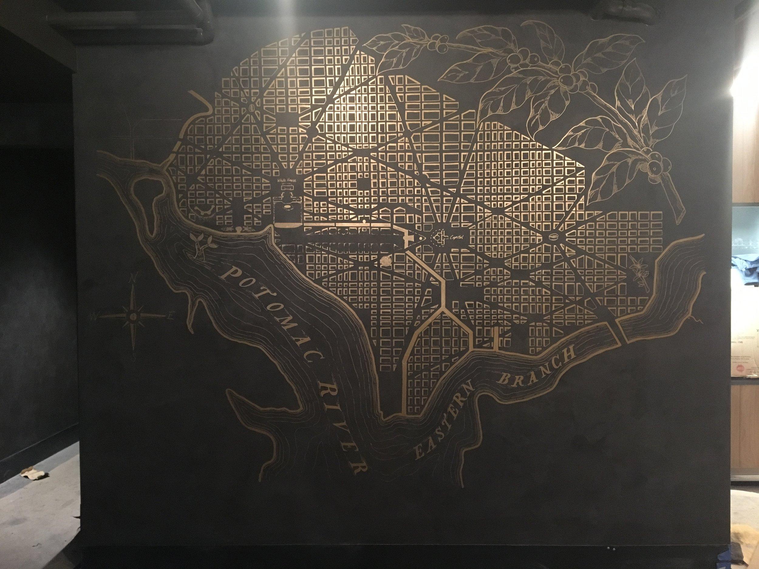 Starbucks -  Capital Gallery DC - Custom