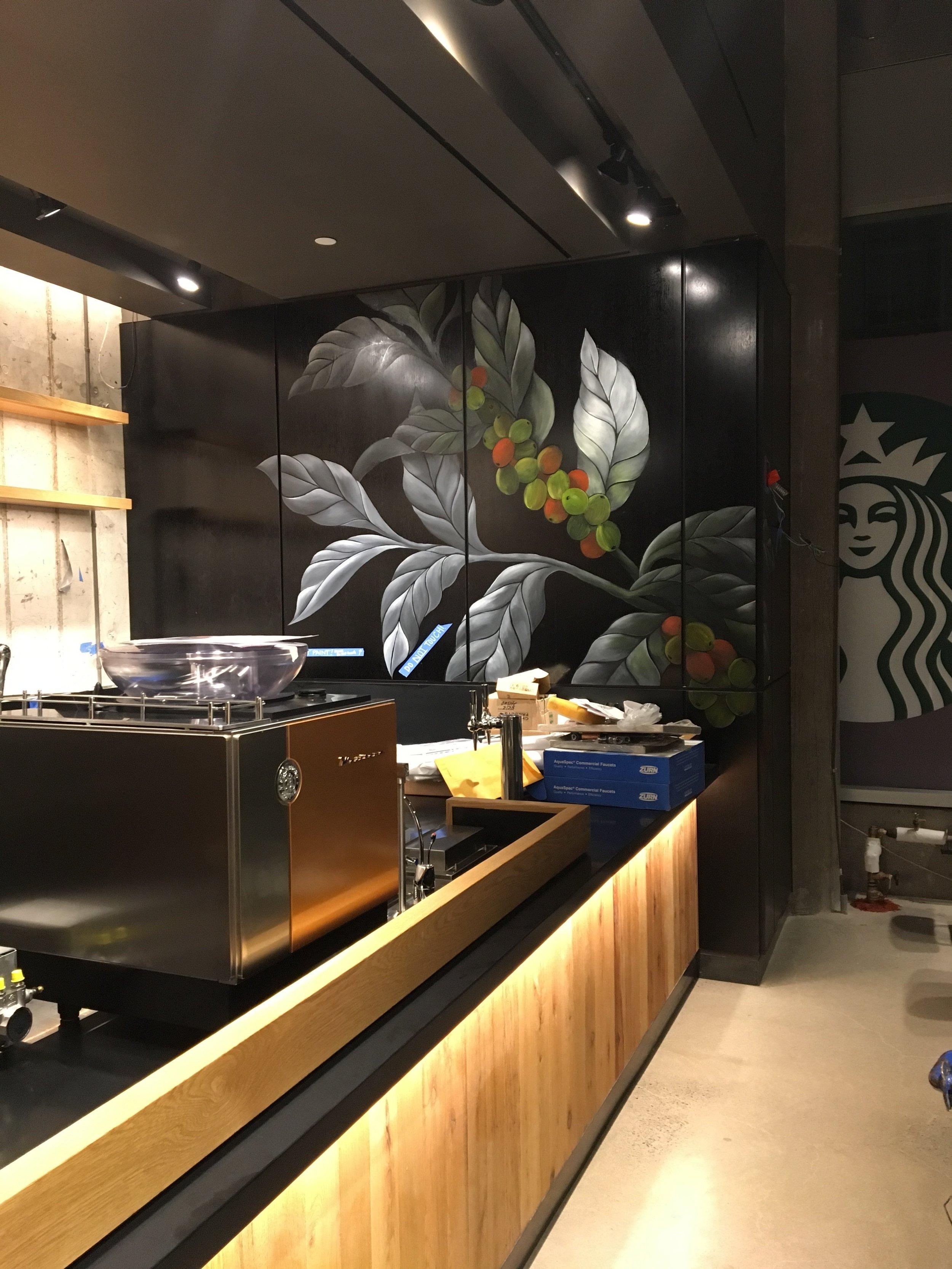 Starbucks - NYC - Oil Painting on panels