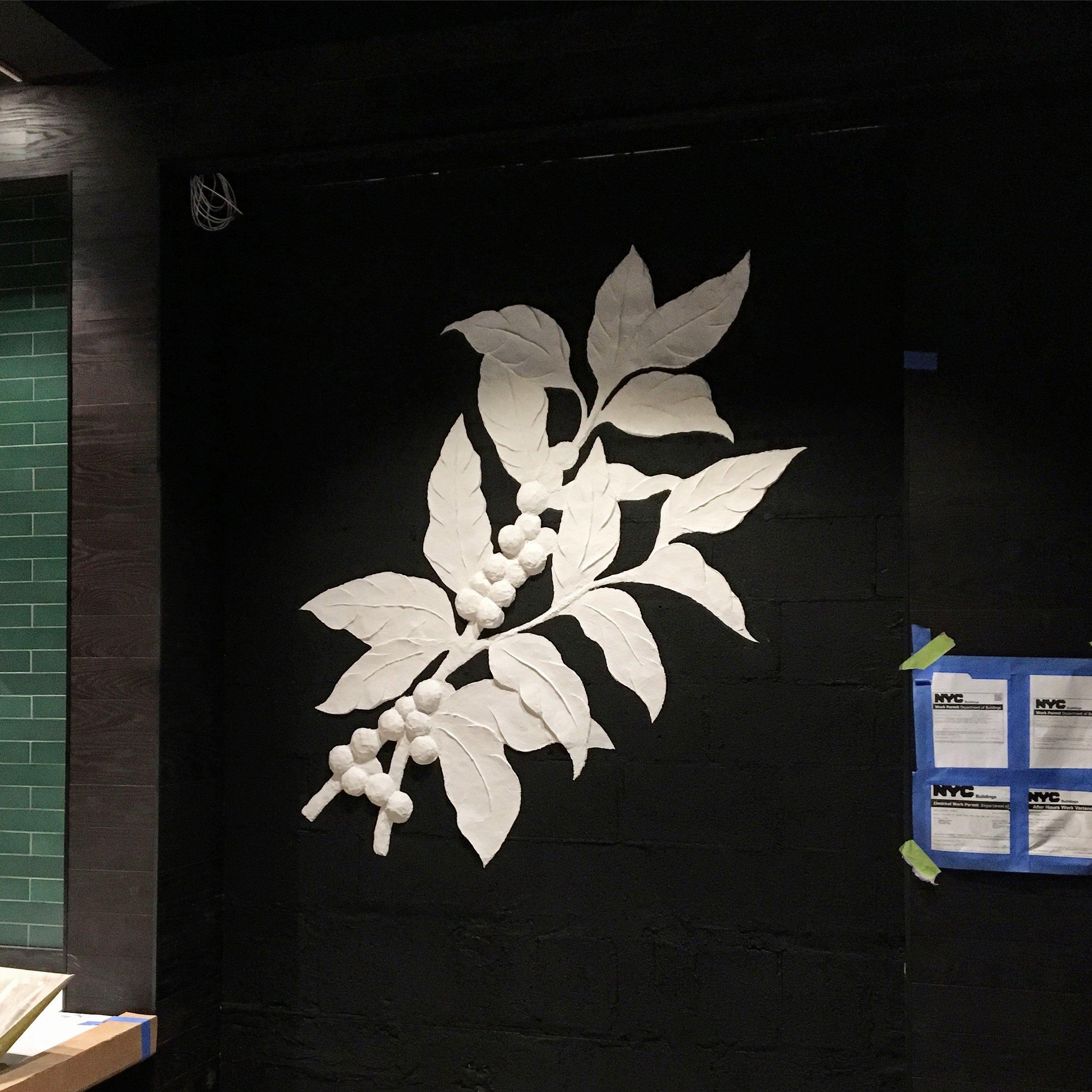 Starbucks - NYC - Plaster Relief