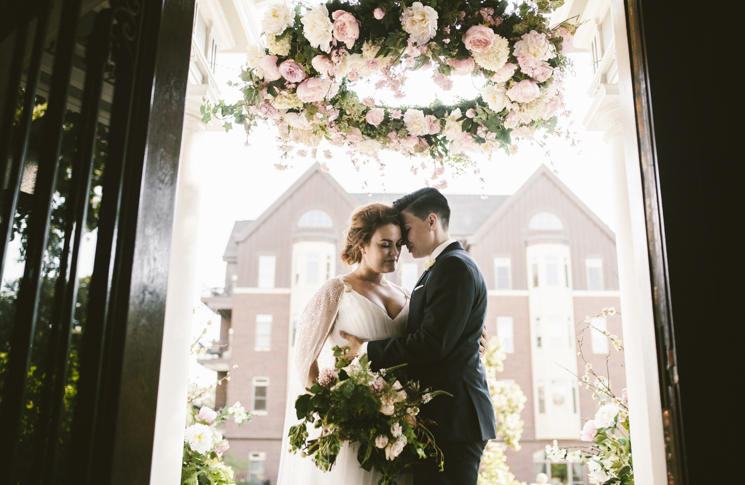 An elegant Historic estate wedding in Minneapolis