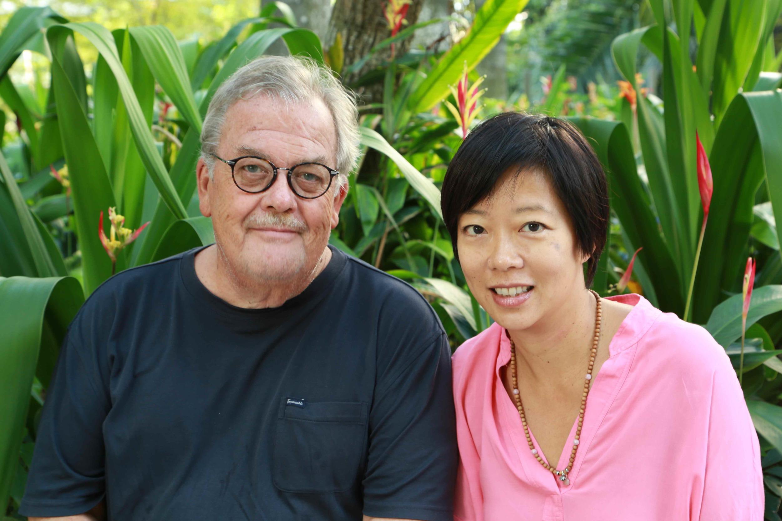 Jim Herrler and Ellen Ma