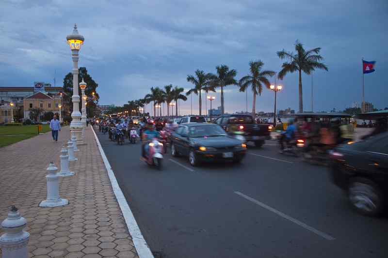 Road in Phnom Penh