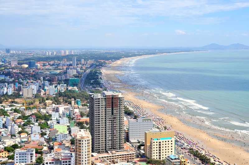 Vung Tau City and Coast