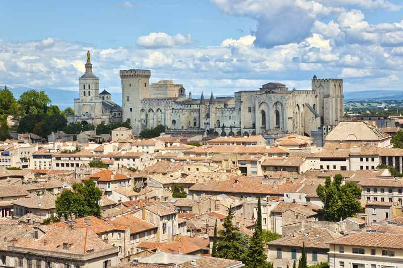 Avignon with the Pope's Palace