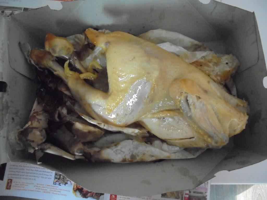 Salted chicken revealed