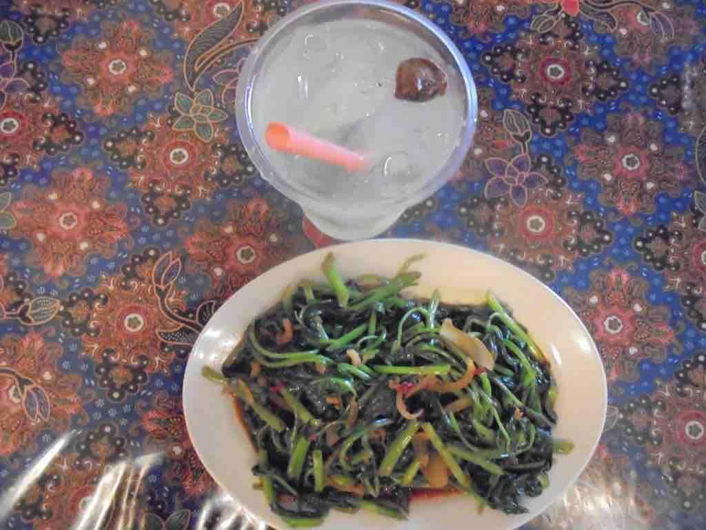 Spicy Kangkong Sambal