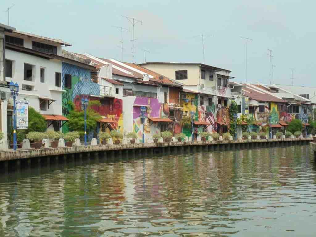 Melaka river bank
