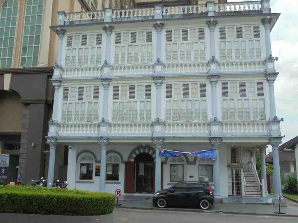 Textile museum in Kuching