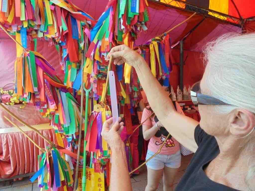 Hanging Wish Ribbons