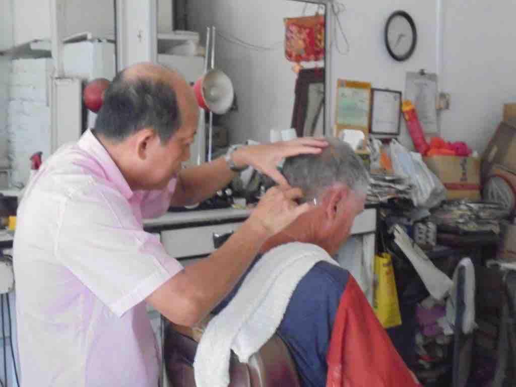 Cut throat razor finish