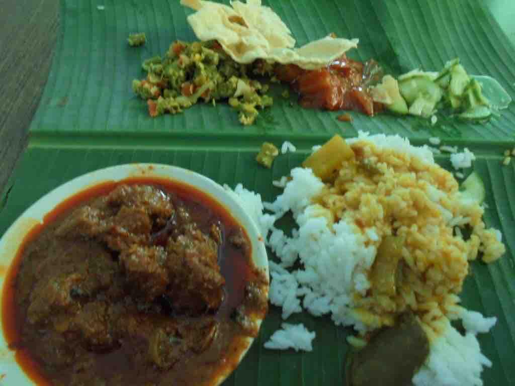 Lunch at Selvam restaurant
