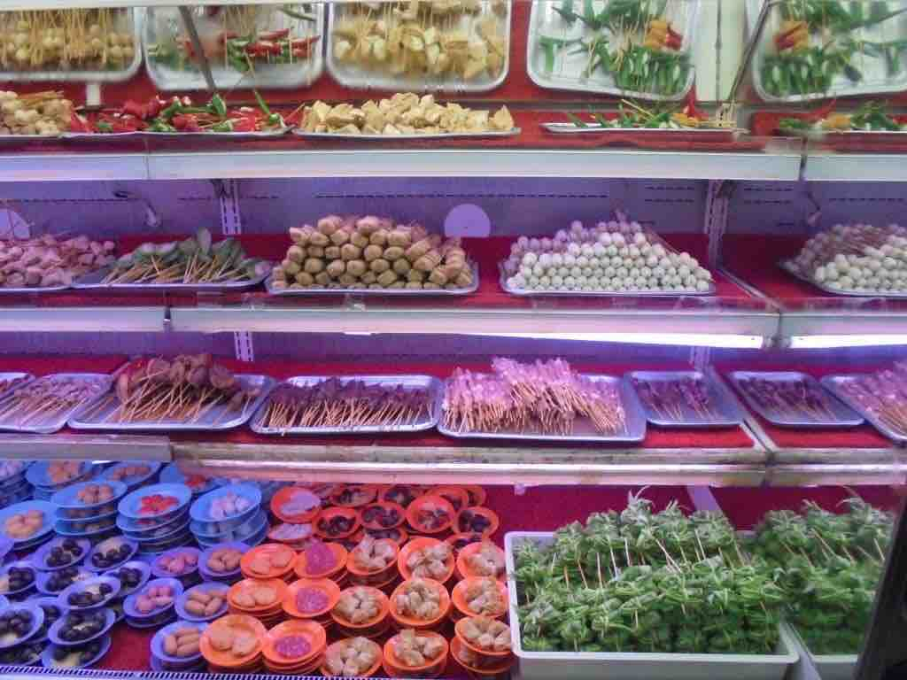 Selection of food