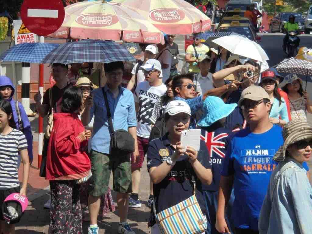Tourists on Jonker Street