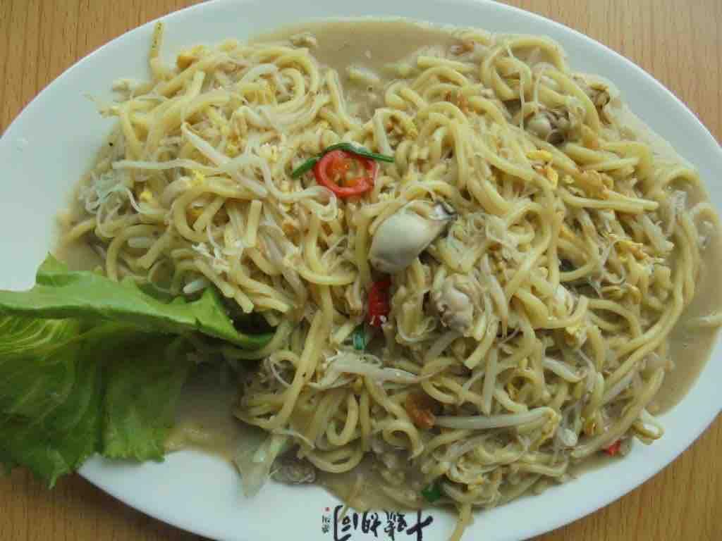 Oyster fried noodles