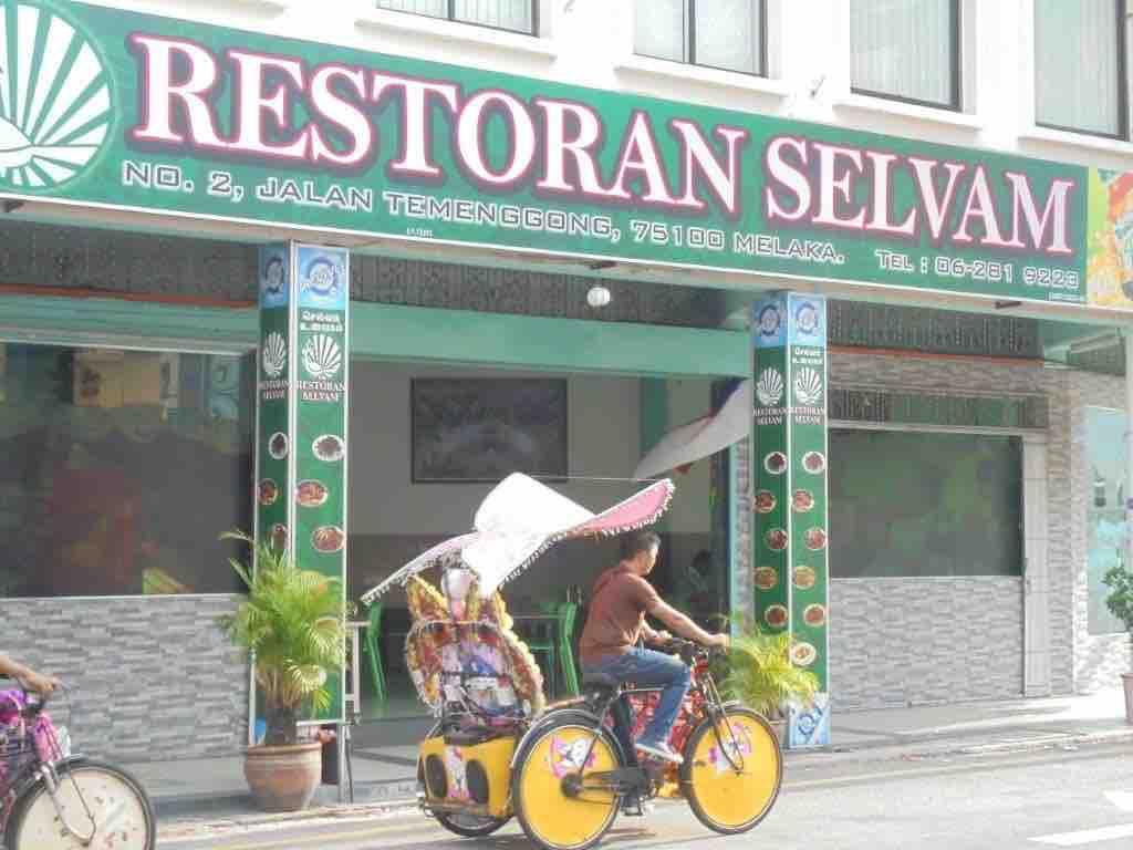 Favourite Indian restaurant in Melaka