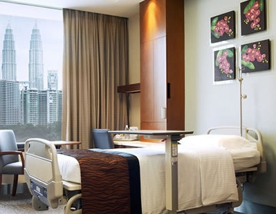 277 bed private hospital in the center of KL