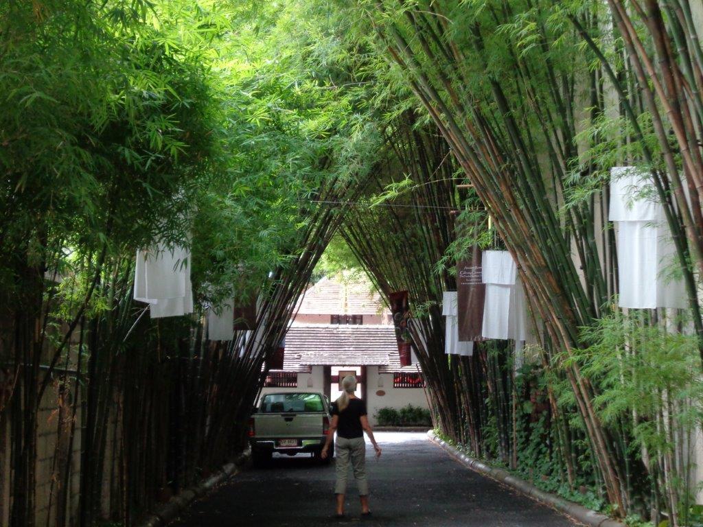 Entrance to Tamarind Village