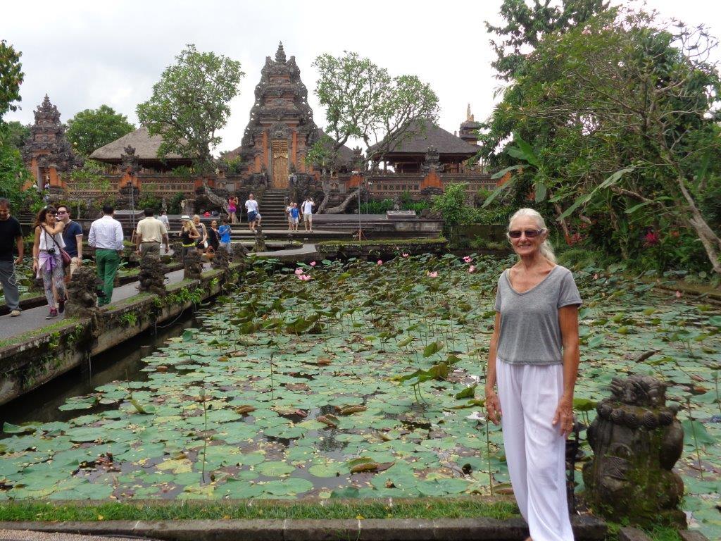 Behind Lotus Cafe