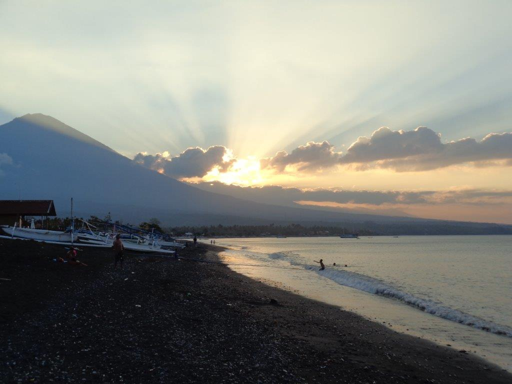 Another Mt Agung sunset