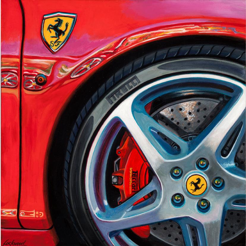 """Ferrari Italia 458, 20 x 20"""""""
