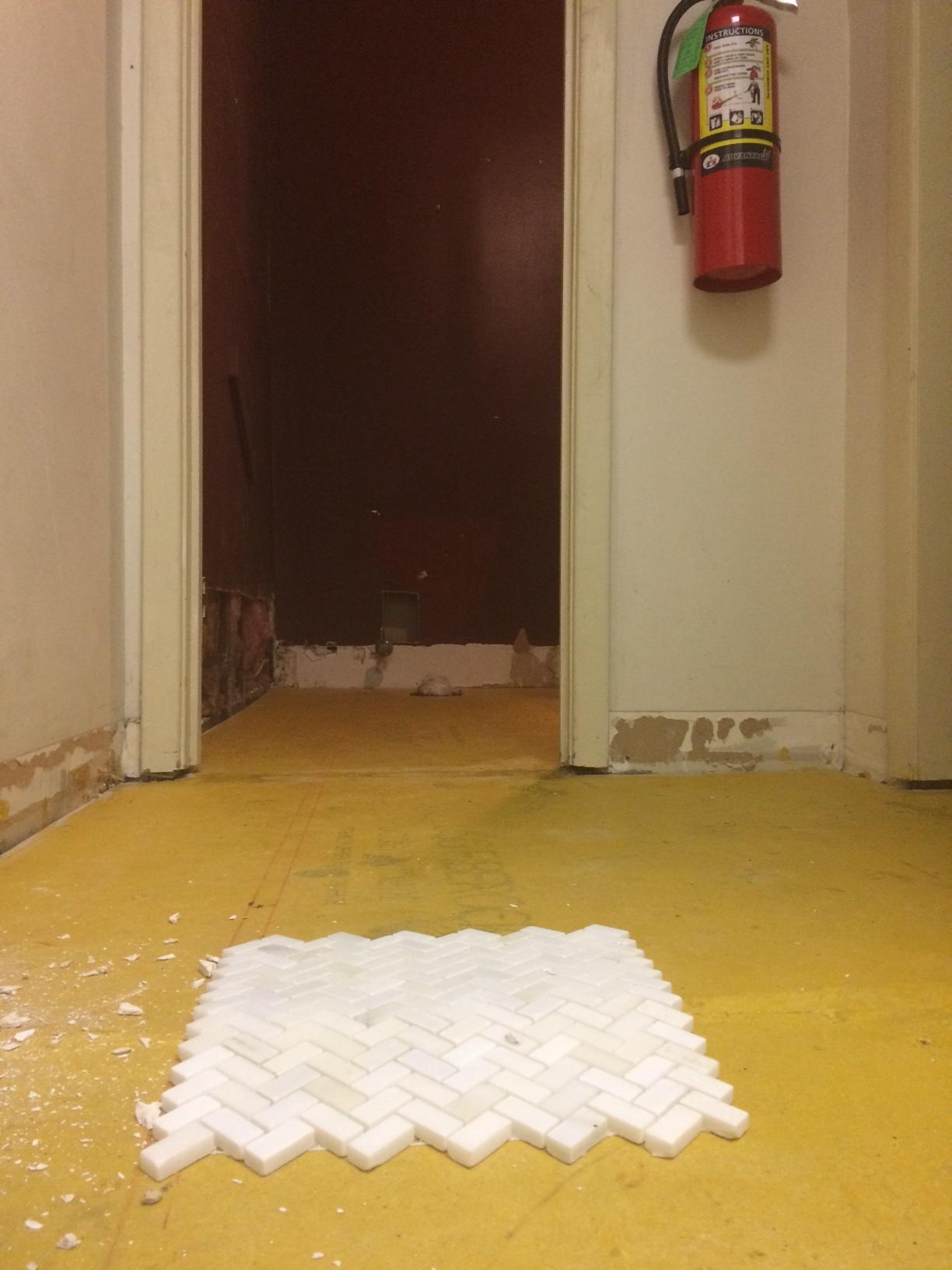 new bathroom tiles!