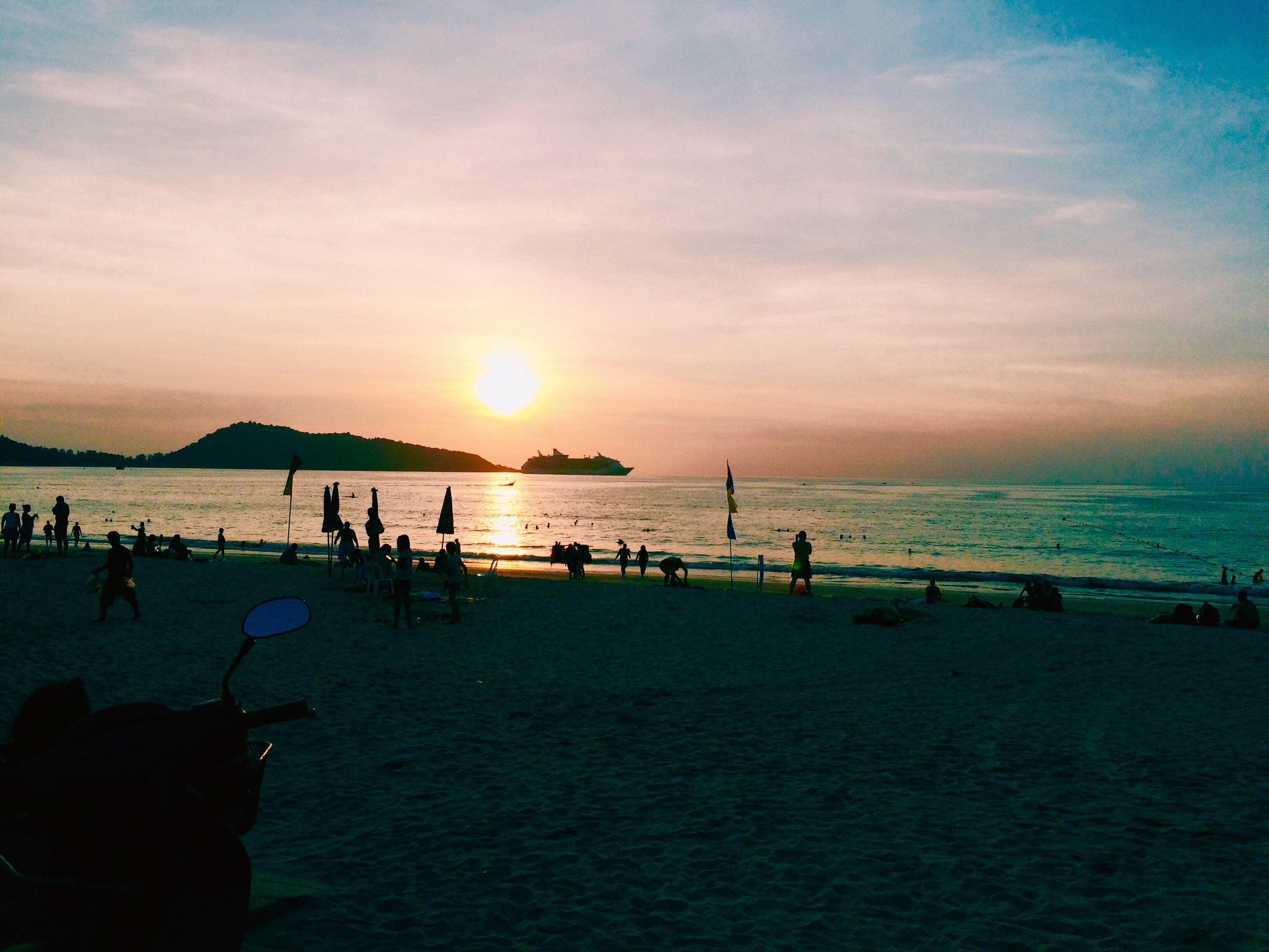 Patong Beach Sunset, Phuket