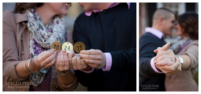 Meghan and her mother found these golden, vintage numbers- I can only imagine what they have in store for the wedding details!