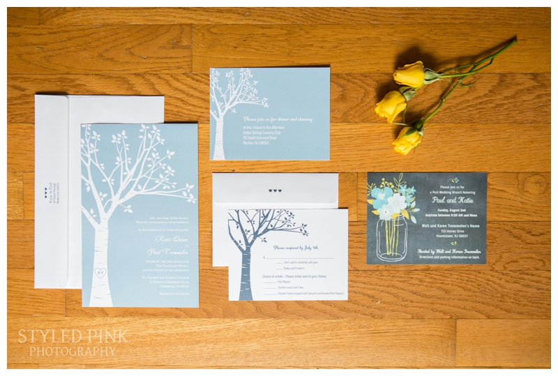 A gorgeous invitation suite!