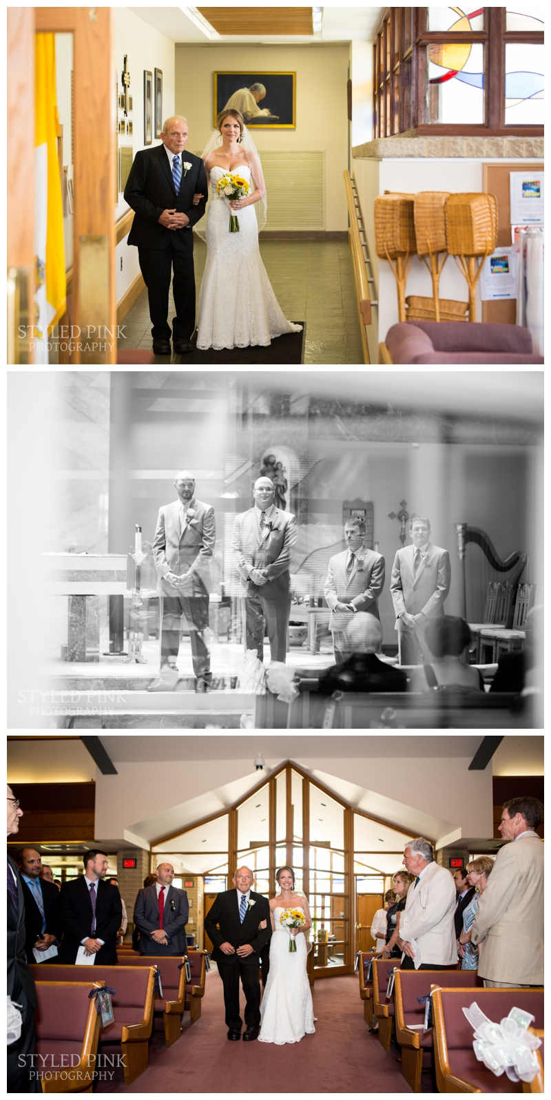 Paul and Katie's ceremony took place at their church, St. Andrew the Apostle Catholic Church.
