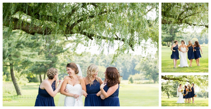 Katie and her bridesmaids were just perfect- you girls worked it!