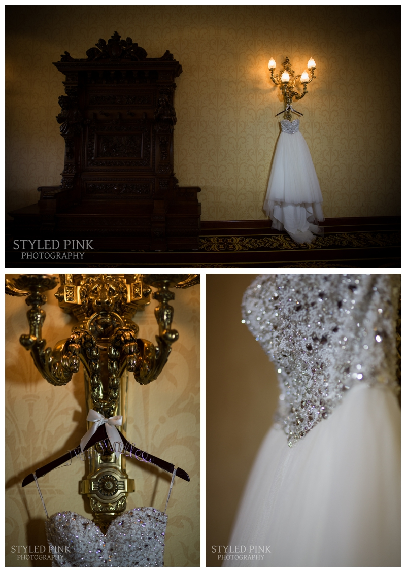 Caitlin wore a GORGEOUS Maggie Sottero gown.