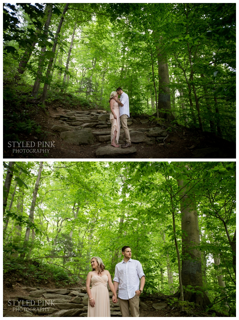 Don't they look like they are in their own secluded wilderness? Hard to believe its in Philadelphia!