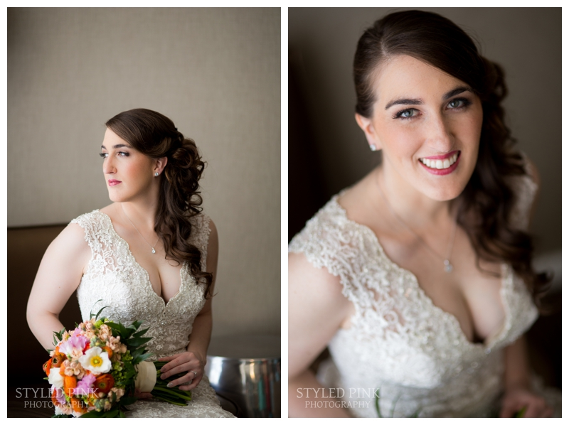 Brittany is such a stunning bride. Stunning!