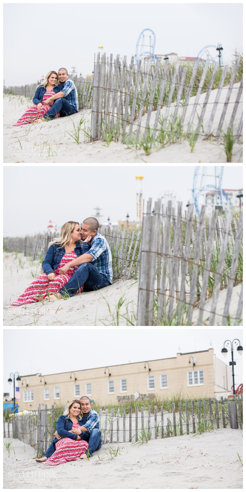 "Nothing says ""Ocean City,"" like the boardwalk and rides- a total must-have for an engagement session."