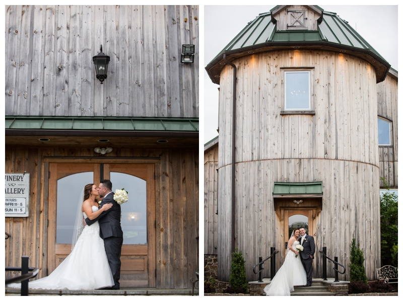 Such a fun spot for bride and groom photos at Rose Bank Winery!